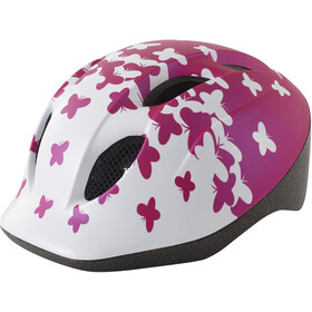 MET Superbuddy Casque Enfant, pink butterflies